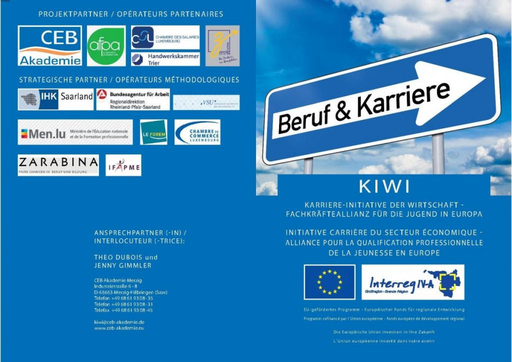 KIWI - Karriere-Initiative der Wirtschaft - Fachkräfteallianz für die Jugend in Europa