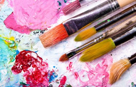 """Malkurs """"Acryl- und Aquarellmalerei mit der Künstlerin Brigitte Weiand"""""""