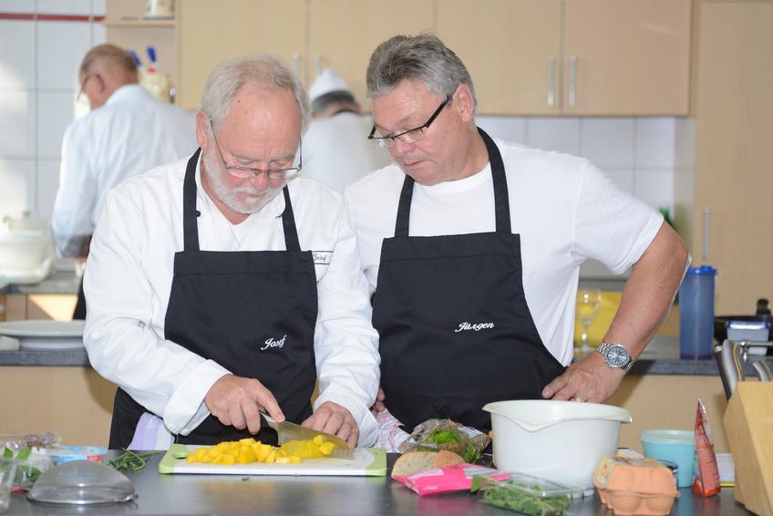 """Kochkurs für Männer """"Kochen gut und gesund"""""""