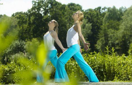 Mit Yoga in den Frühling, Sonnengruß und Variationen