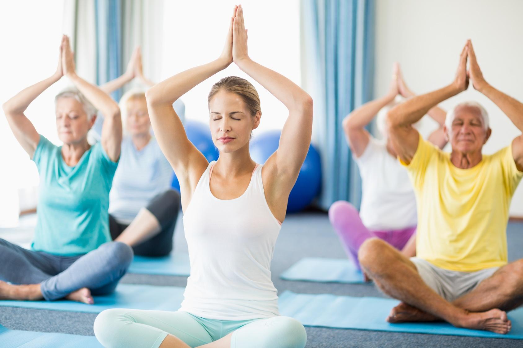 Yoga - Sonne, Mond und Sterne