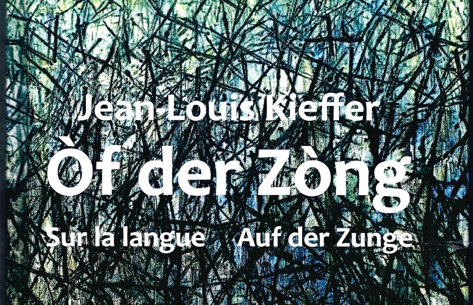 Lesung mit Jean-Louis Kieffer